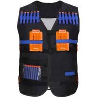 Yosoo Kids Elite Tactical Vest med 20 Nerf pilar