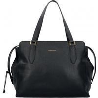 Caterina Lucchi Dollaro Shopper Tasche Leder 37 cm black