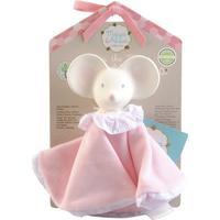 Meiya & Alvin Meiya Mouse Snuggly Comforter with Organic Teether Head