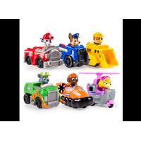 PAW PATROL Rescue Racers 6 pack