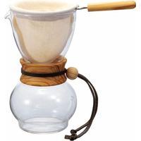Hario Drip Pot Olive Wood Neck 3 Cup