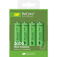 GP Batteries ReCyko 270AAHCE-2GBW4 4 Pack