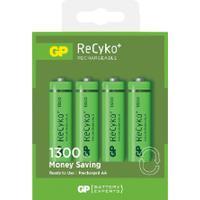 GP Batteries ReCyko 130AAHCE-2GB4/R6 4 Pack