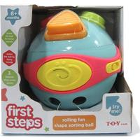 Redbox First Steps Musical Shape Sorting Ball
