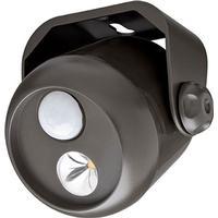 MrBeams batterilampe LED med sensor mini - brun