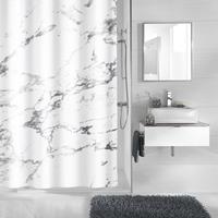 Kleine Wolke Duschvorhänge Marble
