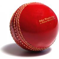 John Woodbridges Cricket Boll Röd Läder