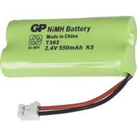 Gp batteripack trådlös telefon nimh 2.4 v 550 mah (220382c1)