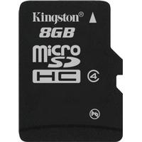 Kingston MicroSDHC Class 4 8GB