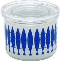 Almedahls Porcelænbeholder Med Plexiglaslåg Opbevaringsglas 10.5 cm