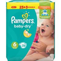 Pampers Baby Dry Size 6 Extra Large