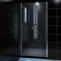 vidaXL Shower Door Glass 830 x 1900 Duschdörr 780-830mm