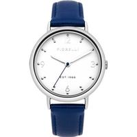 Fiorelli Fo024u Steel Ladies Blue Leather Watch