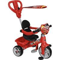 Feber Trehjuling med Bilar-motiv