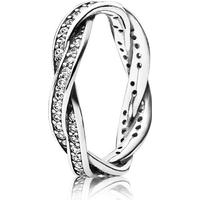 Pandora Ring Twist of Fate 925 Sterling Silver