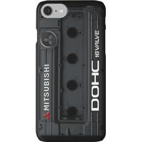 4g63 MITSUBISHI Valve Cover - iPHONE - BLACK iPhone 7 Cases
