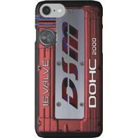 4g63 MITSUBISHI Valve Cover -IPHONE -Red/White - Steven iPhone 7 Cases