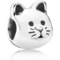 Pandora Curious Cat Sterling Silver Charm (791706)