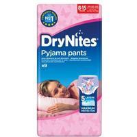 DryNites Flicka 8-15 år - 9 st