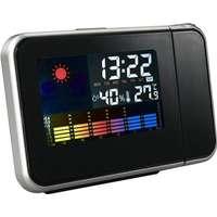 Not specified Roterande Projektionsklocka Väderprognos väckarklocka LCD