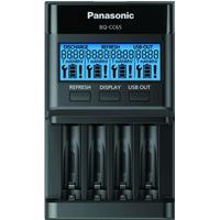 Panasonic eneloop Lader Inkl. LCD-Display BQ-CC65 til 4x AA/AAA batterier