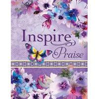 Inspire Praise Bible NLT, Feminine Deluxe (Inbunden, 2017)