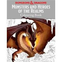 Monsters and heroes of the realms - a dungeons & dragons colouring book (Pocket, 2016)
