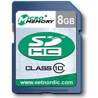 MicroMemory SDHC Class 10 21/20MB/s 8GB