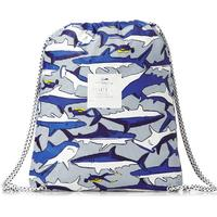 Joules Boy's Joules Backpacks - Joules Rubber Backpack - Shark Dive Stripe