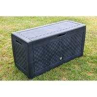 PROSPERPLAST Gartenbox Kissenbox BOXE BRICK 310 l, anthrazit MBB310