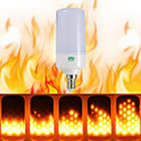 ywxlight 1pcs e26 e14 b22 ledet flimmer flammeffekt ledet brandpære brand brændende ac 85-265v