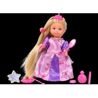 Steffi Evi Rapunzel, blond i pink/lilla kjole