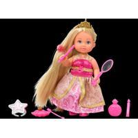 Steffi Evi Rapunzel, blond i lyserød/guldfarvet kjole