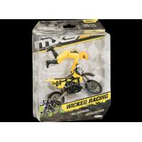MXS Bike and Rider, Wicked Racing (Yellow)