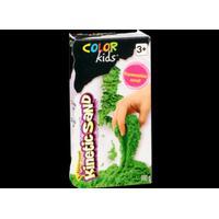 COLOR KIDS formbar, färgad sand, grön