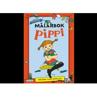 Pippi Longstocking MÅLARBOK PIPPI