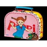 Pippi Longstocking PIPPI resväska 20 cm rosa