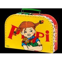 Pippi Longstocking PIPPI kuffert 25 cm gul
