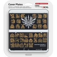 Nintendo Cover Plate - Monster Hunter 4 Ultimate Black (New Nintendo 3DS)