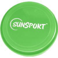 Sunsport Flying Disc 90 Gram frisbee  Grön Herr ONESIZE