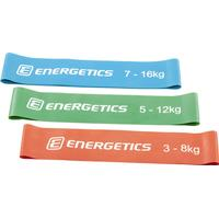 Energetics Mini Strength Band set RED/GREEN/BLUE Herr ONESIZE