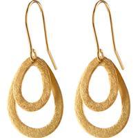 Pernille Corydon Mini Double Drop Earrings