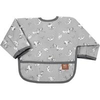 Ng Baby Fairytale Bib with Arms Grey