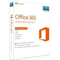 Microsoft Office 365 Home - Licens til 5 brugere