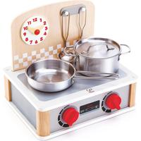 HapeToys 2 in 1 Kitchen & Grill Set E3151