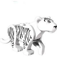 White Tiger Mini Dolls Prince of Persia minifigure building blocks toys lego