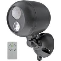 Mr Beams Spotlight batteridrevet spotlampe i brun med sensor og fjernbetjening