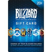 Blizzard Gift Card 20