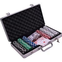 Pokerväska komplett, 300 marker