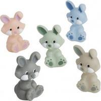 Rätt Start Badleksak Kaniner i Pastellfärger 5-del